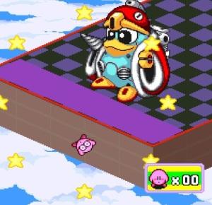 Robo Dedede Kirby's Dream Course super Nintendo snes