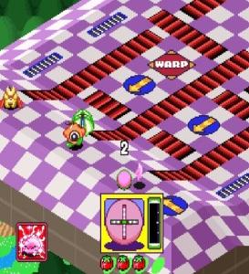 Kirby's Dream Course course 4 snes super Nintendo