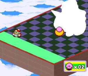 Final boss Robo King Dedede Kirby's Dream Course super Nintendo snes