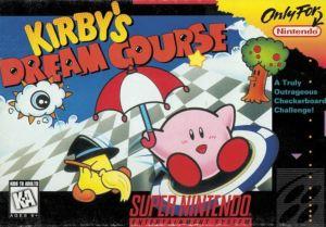 Kirby's Dream Course snes super Nintendo