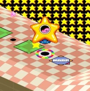 Kirby's Dream Course starship snes super Nintendo