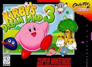 Kirby's Dreamland 3 SNES super Nintendo