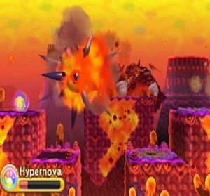 Final boss Kirby Triple Deluxe Nintendo 3DS