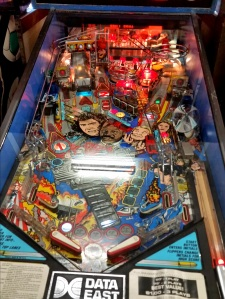 Lethal Weapon 3 Pinball board