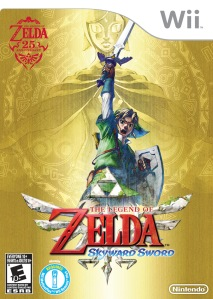 The Legend of Zelda: Skyward Sword Wii Nintendo boxart