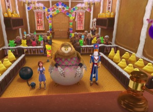 Dorothy Gale on trial in candy court Legends of Oz: Dorothy's Return