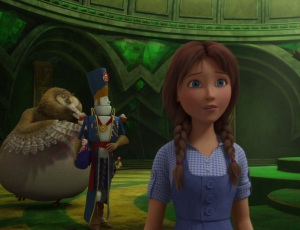 Dorothy Gale and the owl Legends of Oz: Dorothy's Return
