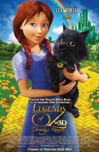 Legends of Oz: Dorothy's Return movie poster