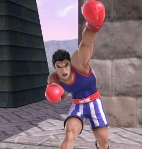Little Mac super Smash Bros ultimate Nintendo Switch Punchout