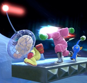 Little Mac vs captain olimar super Smash Bros ultimate Nintendo Switch Punchout