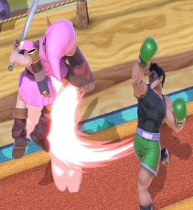 Little Mac vs young link super Smash Bros ultimate Nintendo Switch Punchout