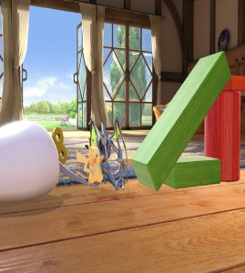 Pikachu vs Ridley Living room stage super Smash Bros ultimate Nintendo Switch
