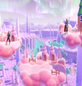 Magicant stage super Smash Bros ultimate Nintendo Switch earthbound