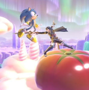 Sonic the Hedgehog vs lucina Magicant stage super Smash Bros ultimate Nintendo Switch earthbound