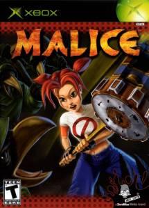 Malice Microsoft Xbox boxart