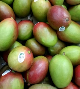 Mango at the grocery store