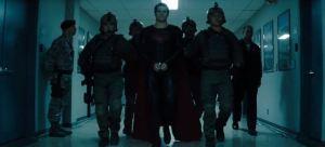 Superman in handcuffs Man of Steel 2013 movie