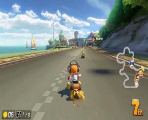Orange inkling Mario Kart 8 Deluxe Nintendo Switch