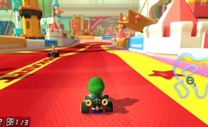 Baby Luigi Mario Kart 8 Nintendo WiiU