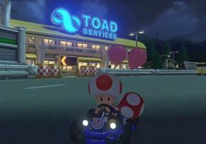 Toad Mario Kart 8 Nintendo WiiU