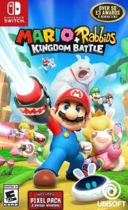 Mario + Rabbids Kingdom Battle Nintendo Switch boxart