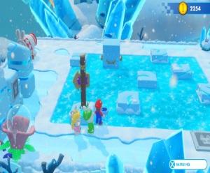 Mario + Rabbids Kingdom Battle Nintendo Switch ice level