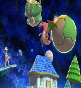 Charizard Mario Galaxy Stage super Smash Bros ultimate Nintendo Switch