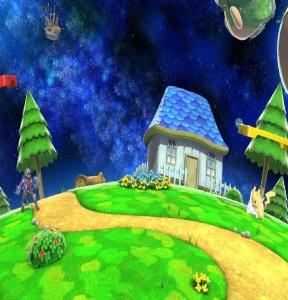 Mario Galaxy Stage super Smash Bros ultimate Nintendo Switch