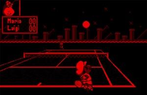 Mario tennis Nintendo virtual boy