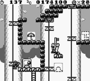 Key level Donkey Kong 94 Game Boy