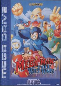 MegaMan the wily wars Sega Genesis Sega Mega drive boxart Europe