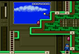 MegaMan the wily wars Megaman first level Sega Genesis Sega Mega drive