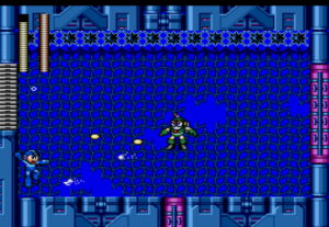 MegaMan vs bubble man MegaMan the wily wars Sega Genesis Sega Mega drive