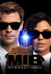 Men in Black international Tessa Thompson Chris Hemsworth movie poster