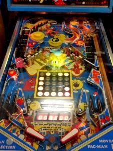 Mr. and Mrs. Pac-Man Pinball machine