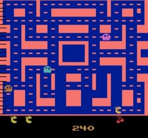 Atari 2600 version ms. PAC-MAN