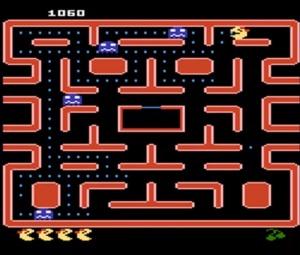 Atari 5200 version ms Pac-Man