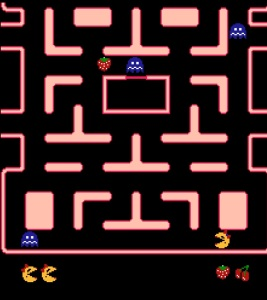 Ms Pac-Man NES VERSION