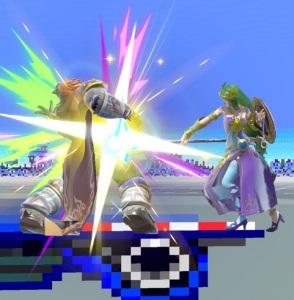 Palutena vs Ganondorf Mute City SNES stage super Smash Bros ultimate Nintendo Switch F-Zero