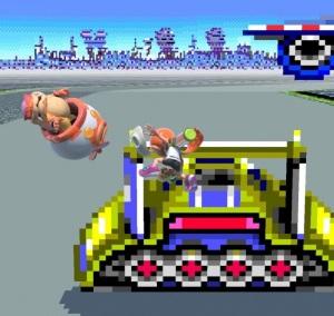 Inkling vs Roy Koopa Mute City SNES stage super Smash Bros ultimate Nintendo Switch F-Zero