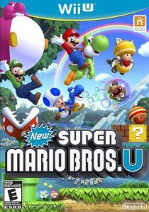 New Super Mario Bros U Nintendo WiiU boxart
