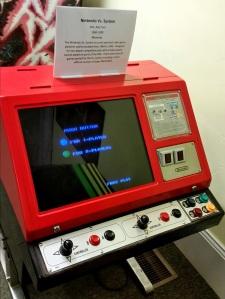 Nintendo Vs arcade machine