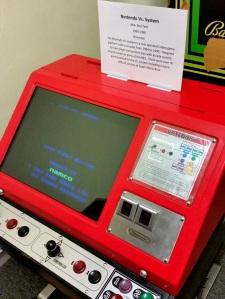 Nintendo retro arcade Vs machine