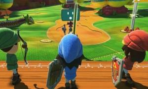 The Legend of Zelda mini game NintendoLand WiiU