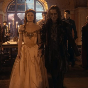 Belle meets Rumplestiltskin once upon a time ABC
