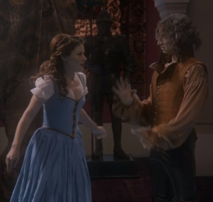 Belle working for Rumplestiltskin once upon a time ABC