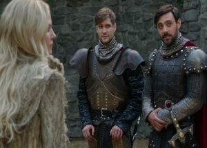 Once upon a time dark Swan meets king Arthur