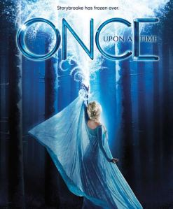 Once upon a time Elsa from frozen season 4 poster