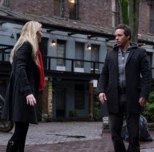 Emma Swan finds Neal Cassidy Baelfire in New York City Once Upon a time ABC