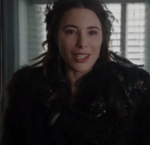 Once upon a time Black Fairy arrives in Storybrooke Maine